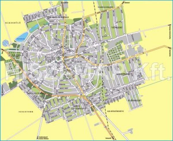 hajdúböszörmény térkép Hajdúböszörmény térképe hajdúböszörmény térkép