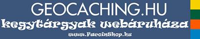 Geocaching termékek boltja