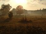 A Nagy-mező a felkelő nap fényében