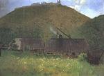 Hollósy Simon: Huszt vára, 1896