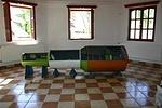 A múzeumnak adott Szalju-6 űrállomás makettem (1:6 méretarány)