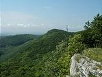 Középen a Sándor-hegy