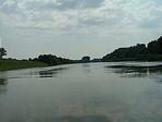 Tiszaroffi folyószakasz a vízről