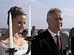 """Az """"építtetők"""" (Vera és Imre) esküvője"""