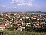 Kilátás a Kőhegyről Budaörsre