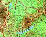 Barlangkataszter térképrészlet