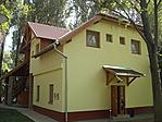 Tégla épület