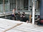 Fa medencék