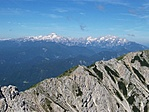 Kilátás fentről: Júliai-Alpok