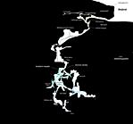 A barlang majdnem teljes térképe (oldalnézet)