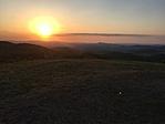 Nagy-Szénás, naplemente